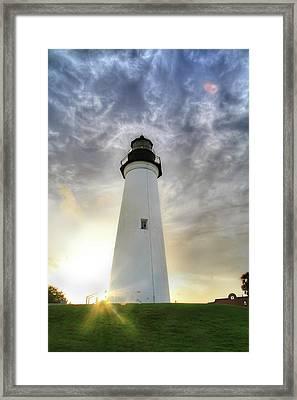 Sunset Light Framed Print