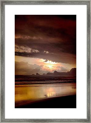 Sunset Framed Print by Mario Bennet
