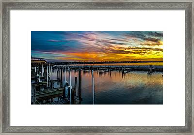 Sunset Masterpiece  Framed Print