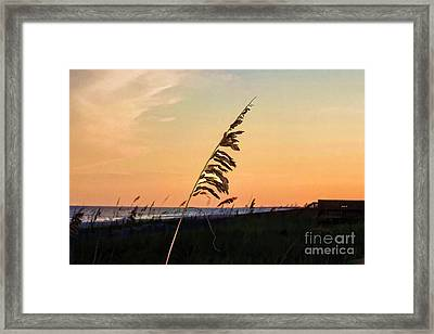 Sunset Memories Framed Print
