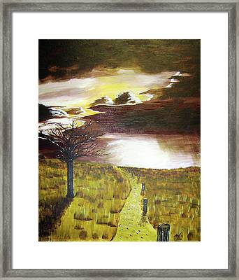 Sunset Framed Print by Michael McKenzie