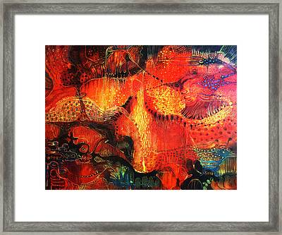Sunset Mirage II Framed Print by Lolita Bronzini