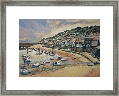 Sunset Mousehole Framed Print