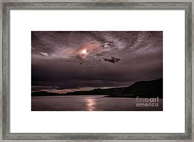 Sunset Near Crested Butte Framed Print