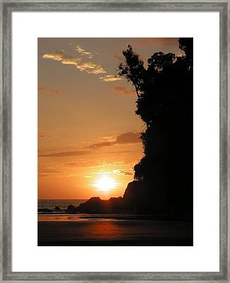 Sunset No.1 Framed Print by Gregory Young