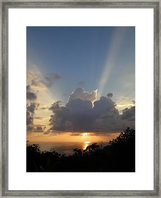 Sunset No.4 Framed Print by Gregory Young