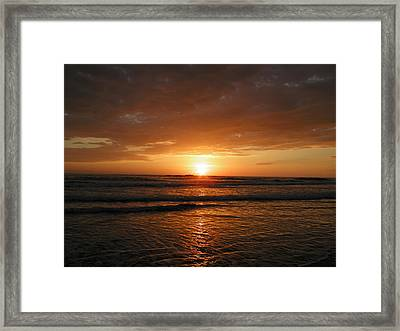 Sunset No.5 Framed Print by Gregory Young