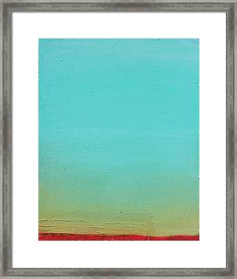 Sunset No. 4 Oil On Board 16 X 20 2015 Framed Print