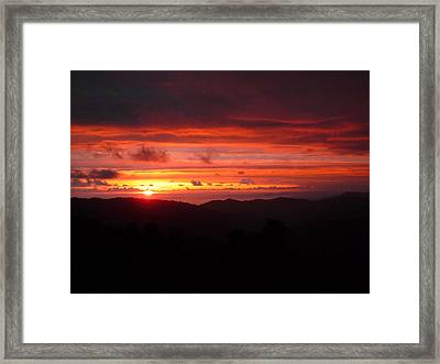 Sunset No.7 Framed Print by Gregory Young