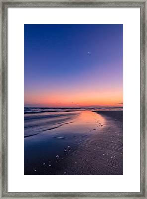 Sunset, Old Saybrook, Ct Framed Print