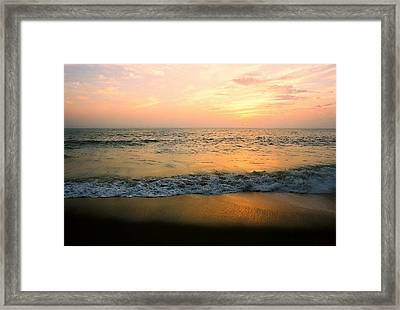 Sunset On Captiva Framed Print
