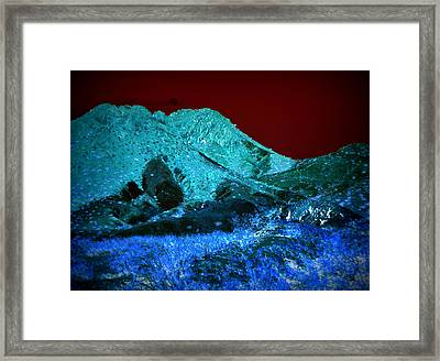 Sunset On Qo'nos Framed Print