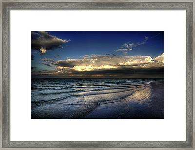 Sunset On Sanibel Framed Print