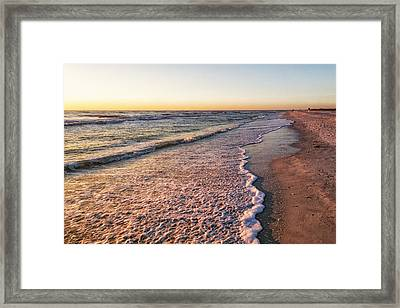 Framed Print featuring the photograph Sunset On Tigertail by Lars Lentz