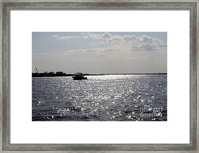 Sunset Over Reynolds Channel Framed Print by John Telfer