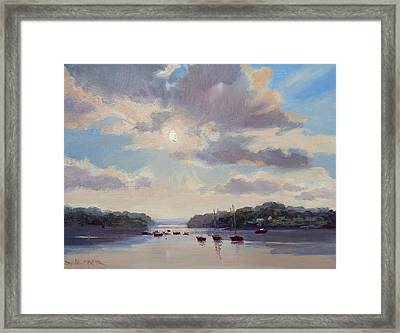 Sunset Over World's End Framed Print