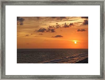 Sunset Panama City Florida Framed Print