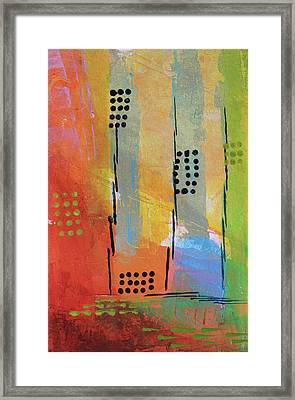 Sunset Park Framed Print