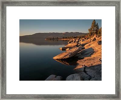 Sunset Peace Framed Print
