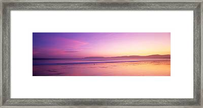 Sunset Point Reyes National Seashore Ca Framed Print by Panoramic Images