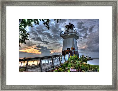 Sunset Point Framed Print