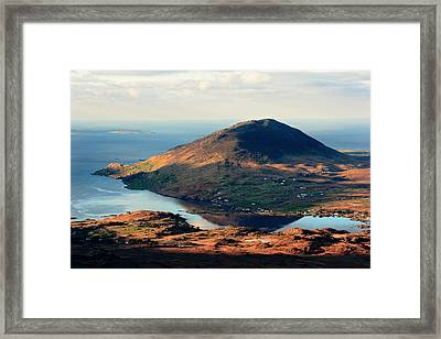 Sunset Reflection In Connemara Ireland Framed Print by Pierre Leclerc Photography