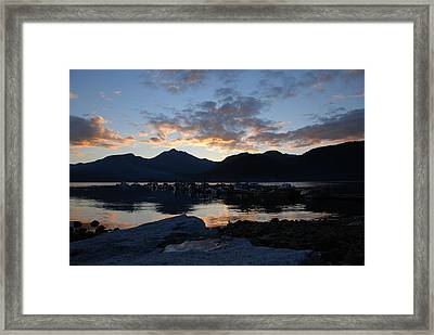 Sunset Reflections #1 Framed Print