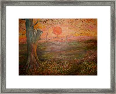 Sunset Rev. Framed Print by Joseph Sandora Jr