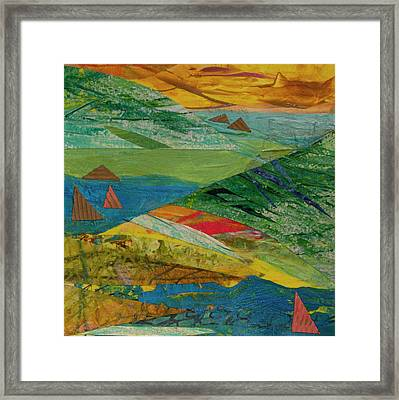 Sunset Sails 3 Framed Print