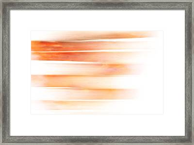Sunset Sea, Reflection Framed Print