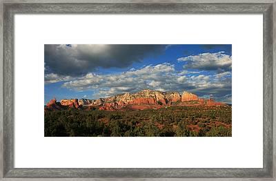 Sunset Sedona Style Framed Print