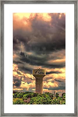 Sunset Selma Framed Print