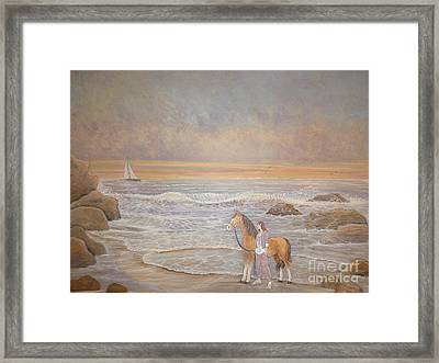 Sunset Serenade Framed Print