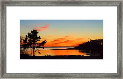 Sunset Serenity Framed Print