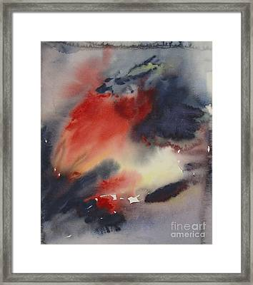 Sunset Series I Framed Print by Leila Atkinson