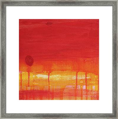 Sunset Series Untitled II Framed Print by Nickola McCoy-Snell