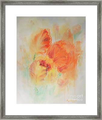 Sunset Shades Framed Print