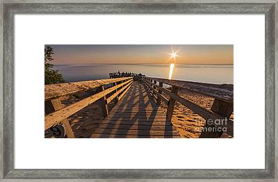 Sunset Shadows Framed Print by Twenty Two North Photography