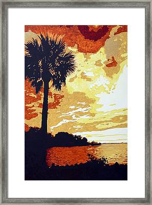 Sunset  Framed Print by Sheri Buchheit