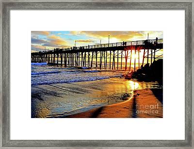 Sunset Shimmer Framed Print
