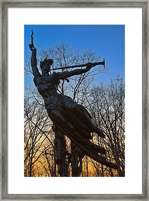 Sunset Spirit Of Louisiana Framed Print