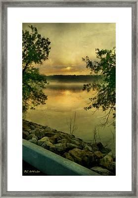 Sunset Splendor Framed Print by RC deWinter