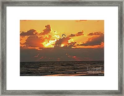 Sunset Splendor Framed Print