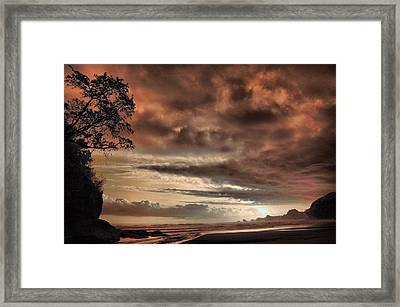 sunset Trip Framed Print by Mario Bennet