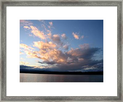 Sunset Two Framed Print by Ty Nichols