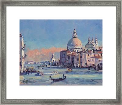 Sunset Venice Framed Print