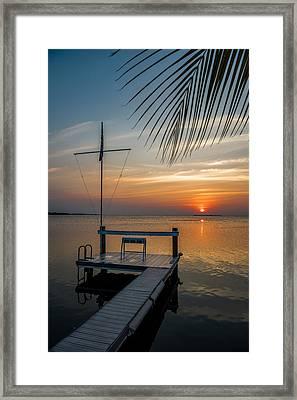 Sunset Villa Framed Print