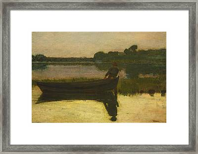 Sunset - Winslow Homer Framed Print