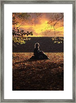 Sunset Framed Print by Cambion Art