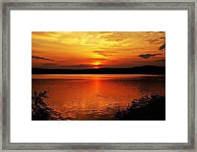 Sunset Xxiii Framed Print